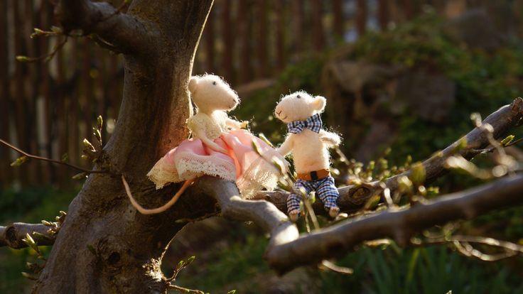 ... / einzigartige Hochzeitstortenfiguren by LittleWoolMouse on Etsy