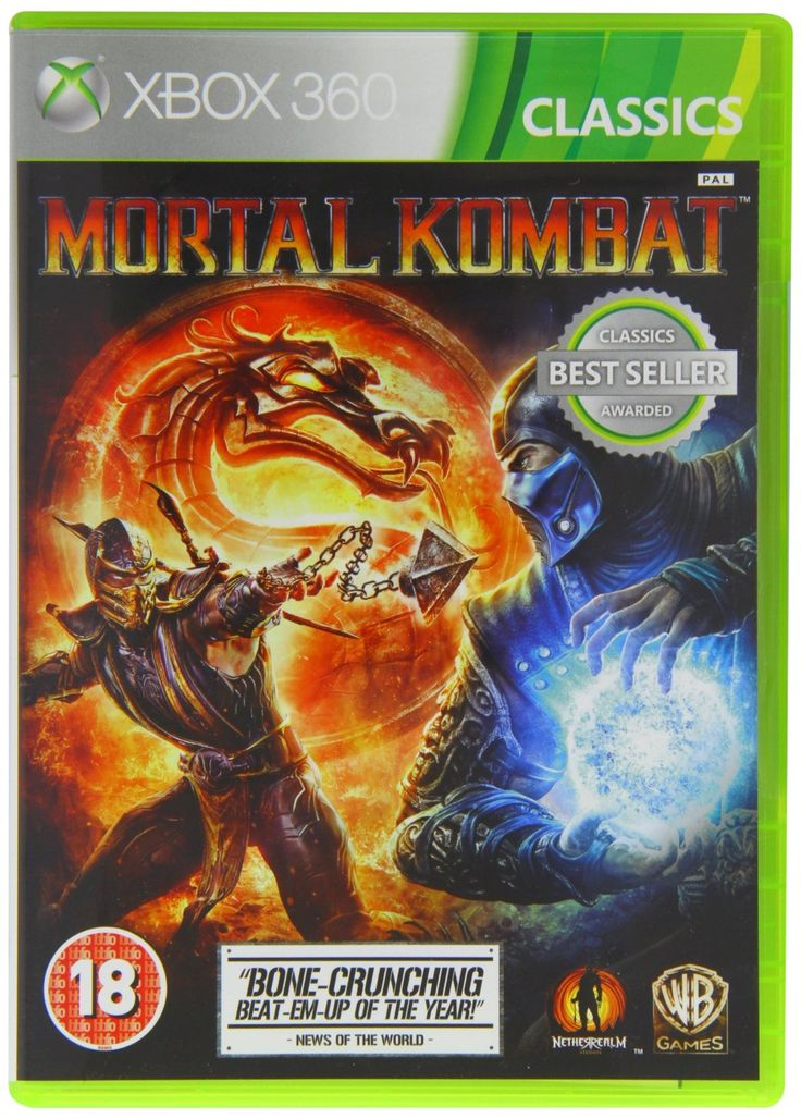 Mortal Kombat Classic (Xbox 360): Amazon.co.uk: PC & Video Games