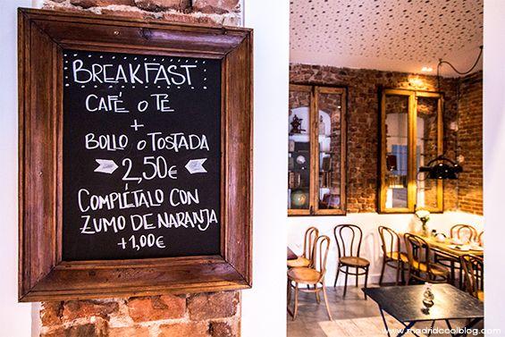 Sangara Café C/ Alonso Cano, 37  (m: Alonso Cano) Cafetería