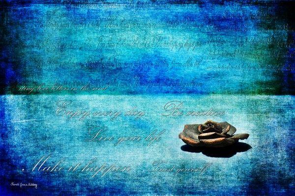 Blue View by Randi Grace Nilsberg on ARTwanted