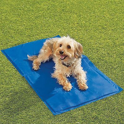 hugs chilly mat cooling dog bed indoor outdoor cool gel pad vinylchillz mats xl