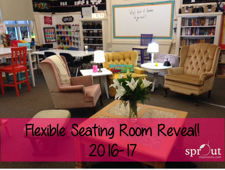Classroom Design And Organization : Complete classroom re model towards the flexible seating
