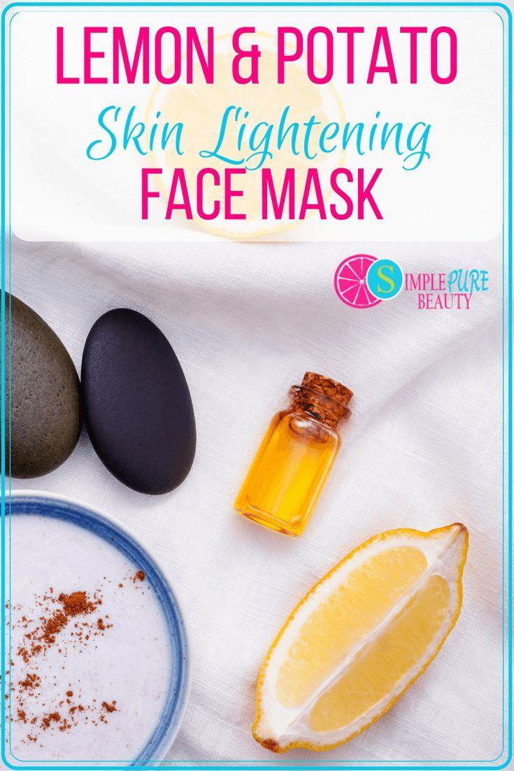 Lighten Face Mask- lemon & Potato