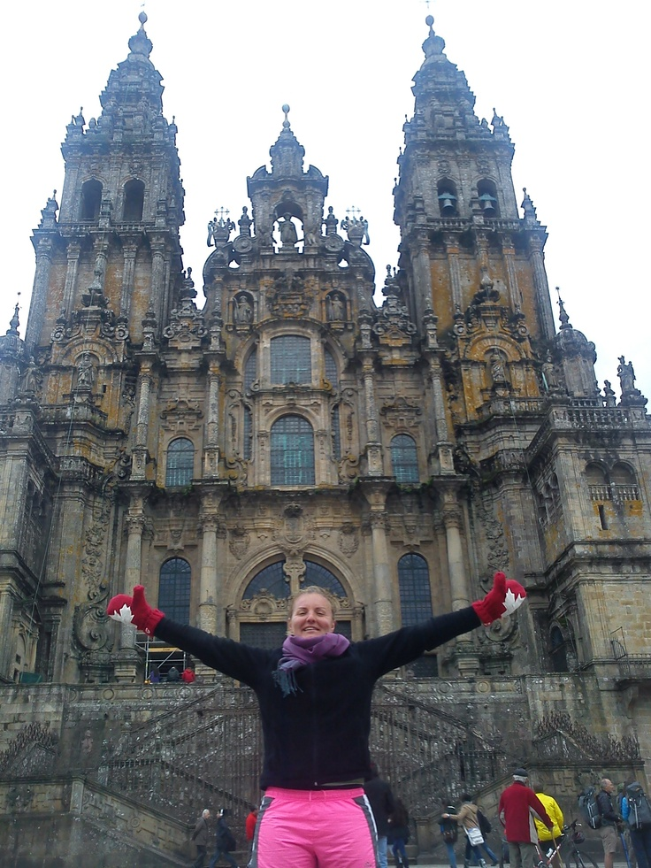 #PotentialistCanada .....after 31 days and 800km of walking I arrived in Santiago de Compostela!