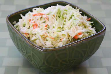 Dole� Classic Coleslaw prepared Recipe via @SparkPeople