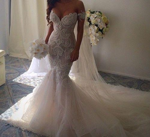 A White Wedding | via Tumblr | Wedding Dresses | Pinterest ...
