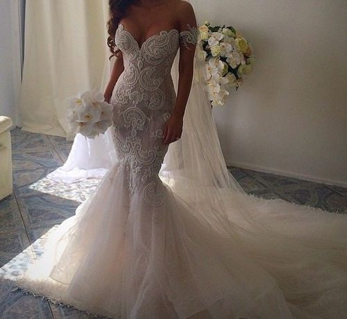 A White Wedding   via Tumblr   Wedding Dresses   Pinterest   Lace ...