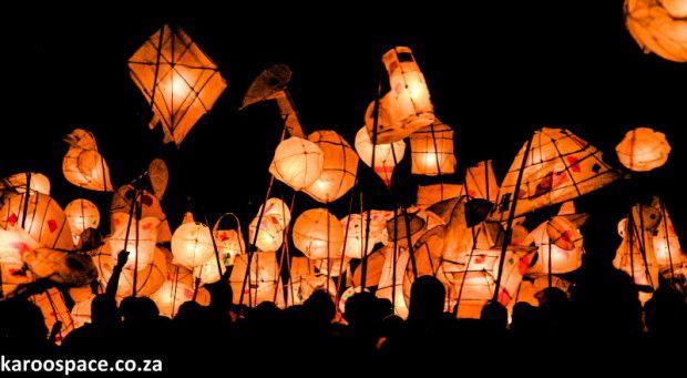 Annual Lantern Festival held in Nieu-Bethesda - Pic by Karoo Space