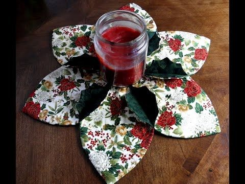 Christmas Holly Centerpiece - YouTube