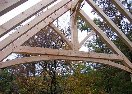 Timber Frame Homes by Vermont Frames, Post & Beam Home Builders, Structures, Stress Skin Panels by Foam Laminates of Vermont