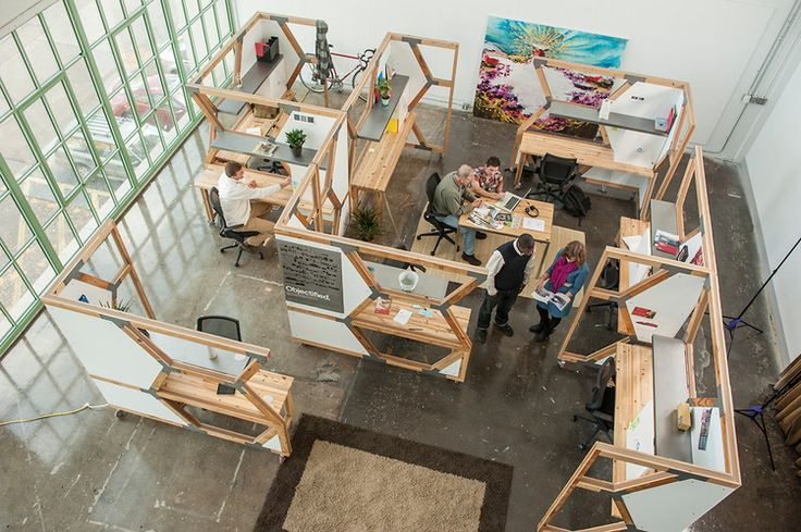 7 | Cubicles Made From The Detritus Of Demolished Buildings | Co.Design: business + innovation + design