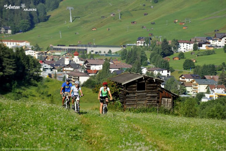Mountainbiketour in St. Anton am Arlberg | Tirol | Austria