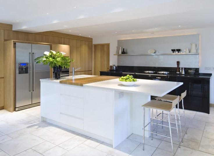 12 best Handleless Veneer and Glass Kitchen - Nolte completed