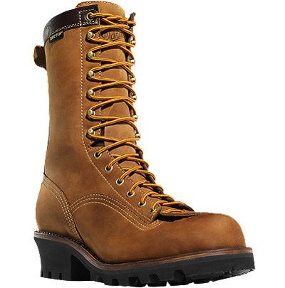Danner Boots Danner Quarry Logger Work Boot Style 10 Inch Men Boots 14574 Logger