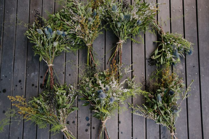 wild greenery bouquets