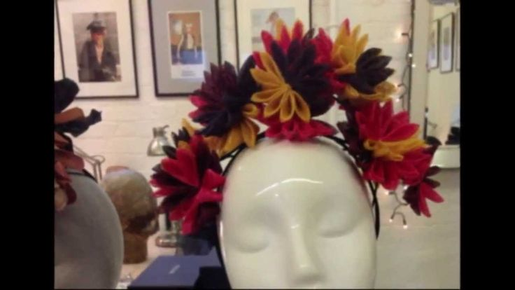 Prudence Millinery making hats for Vivienne Westwood Gold Label SS 2014 ✄ http://www.youtube.com/watch?v=asVMW_1Xw9o