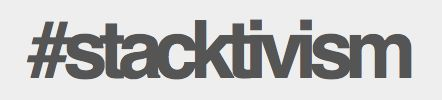 """""""we cannot have a conversation about something whilst it remains unseen - #stacktivism is a term that attempts to give form to a critical conversation & line of enquiry around infrastructure & the relationship we have to it"""" - stacktivism.com"""
