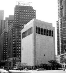 2 COLUMBUS CIRCLE Edward Durell Stone & Associates / 1964 New York, New York  Photo: © Anne Schlecher DOCOMOMO US/New York Tri-State | Advocacy