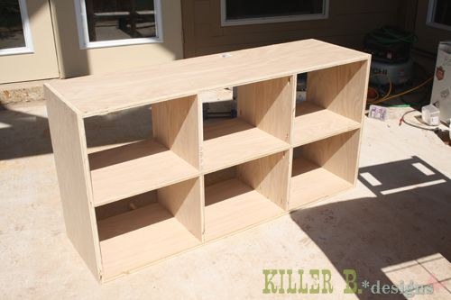 Slim 6 Cube Bookcase: A How-To