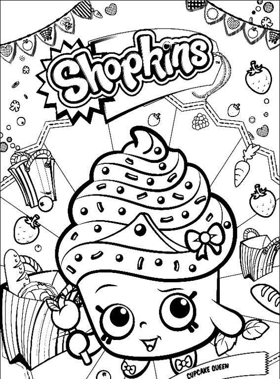 Dibujos de Shopkins Para Colorear - Dibujos Para Colorear ...