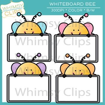 This fun bee clip art freebie includes 4 bees peeking over whiteboards and 1 black & white version. All images are 300dpi png for better scaling and printing.You will receive:* 4 color png images* 1 black & white png imagesTerms of Use:  The clip art may be used in educational commercial products.