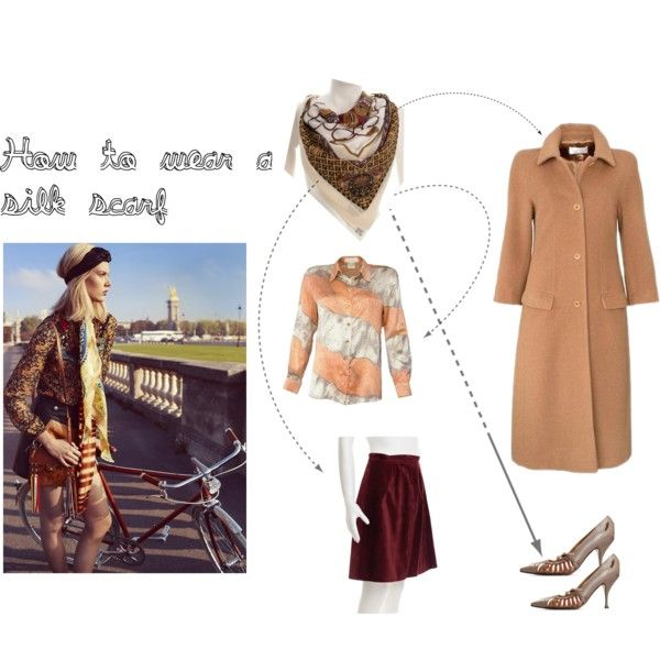 How to wear a silk scarf by divaspreloved on Polyvore featuring Burton