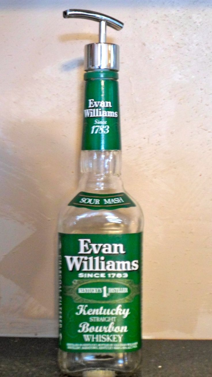 Evan Williams Liquid Soap Dispenser Lotion Hand Sanitizer Bottle