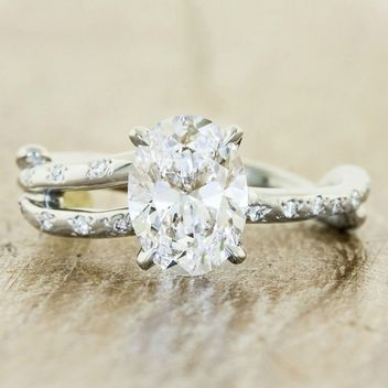 Randy added this one.  8 Rustic Engagement Rings That Look Like They Were Plucked From a Garden