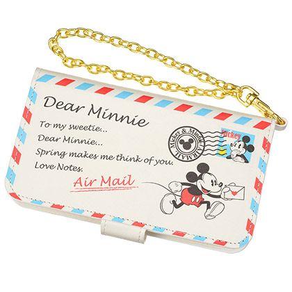 Mickey & Minnie Air Mail Purse