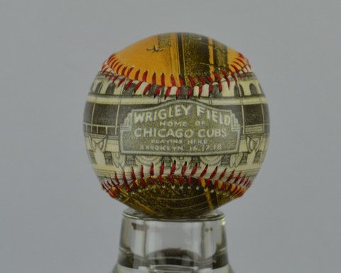 Wrigley Field Opening Day - Printed Baseball – Sport art by Artsportive