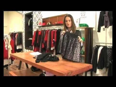 An instructional video in Visual Merchandising showing you how to properly set out a table stock display.