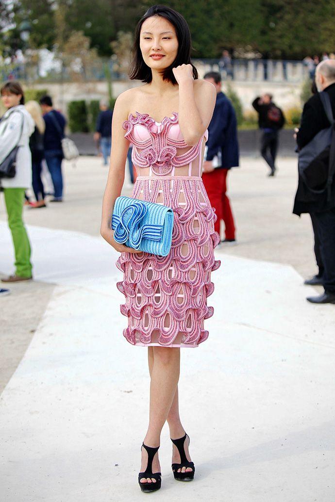 Неделя моды в Париже SS14: streetstyle. Часть VII (фото 1)
