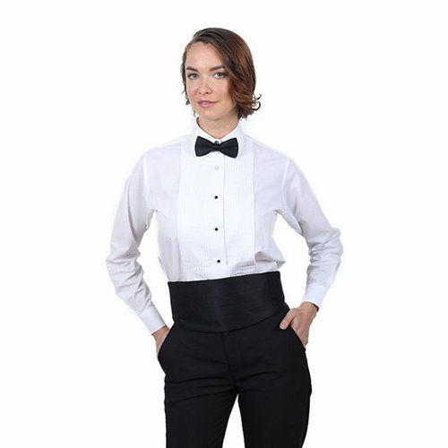 1000 images about tuxedo shirts for women on pinterest for Tuxedo shirt without studs