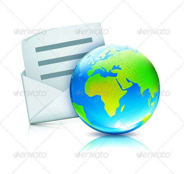 Global communication concept   #GraphicRiver         Vector illustration of glossy earth map globe with open envelope     Created: 22August12 GraphicsFilesIncluded: JPGImage #VectorEPS Layered: No MinimumAdobeCSVersion: CS Tags: blue #business #communication #concept #correspondence #design #document #e-mail #earth #element #envelope #globe #icon #illustration #isolated #letter #mail #map #message #object #paper #planet #post #send #single #sphere #symbol #vector #white #world