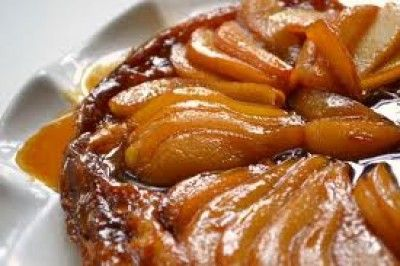Apple & Pear Tarte Tatin: A delicious and warm dessert - perfect on a cold winter's night!