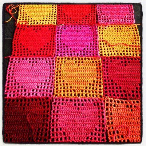 Crochet Heart Inspiration ❥ 4U // hf
