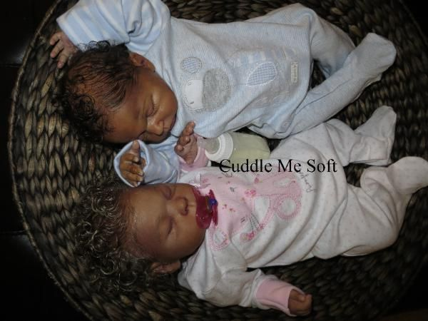 SOLD / ADOPTED - Realistic Twin  Newborn Reborn Baby For Sale, OOAK Baby Reborn doll