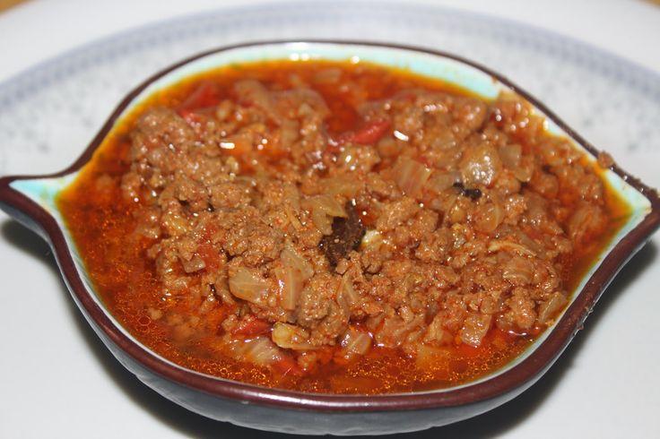 SavisPassions: Goat Mutton Kheema Curry