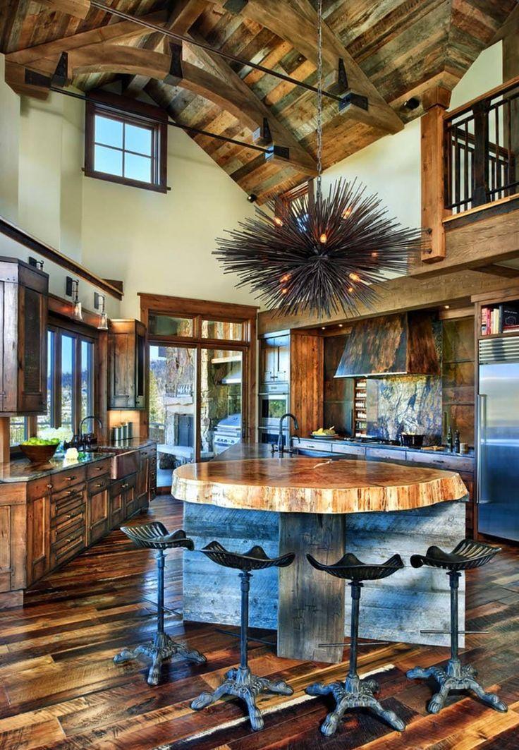 nice rustic interiors Part - 6: nice rustic interiors design ideas