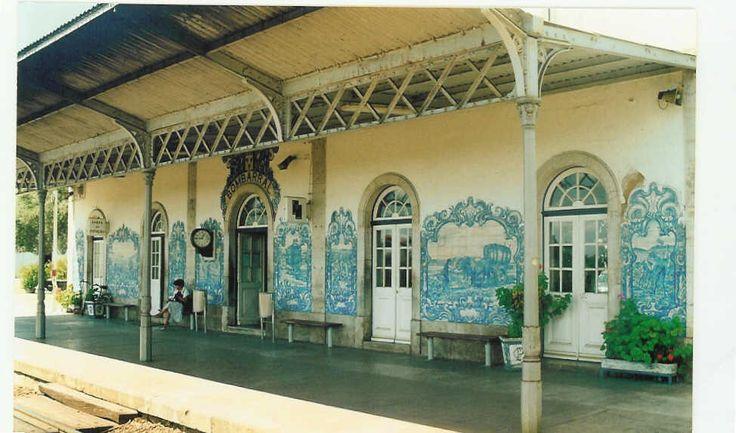 Bombarral Train Station, Portugal