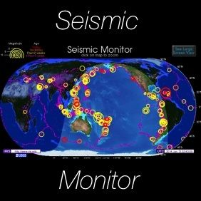 GREAT TOOL: SEISMIC MONITOR: Up-to-date map of the latest earthquakes with resources like news, lists, tools and a 3D viewer. MONDAY, JANUARY 4, 2016 12:52 AM MIDNIGHT EST