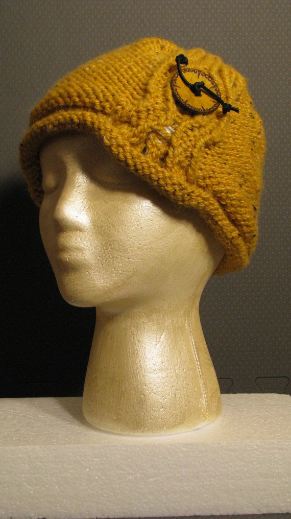 Knitting Pattern Womens Winter Hat Instant Download Knitting