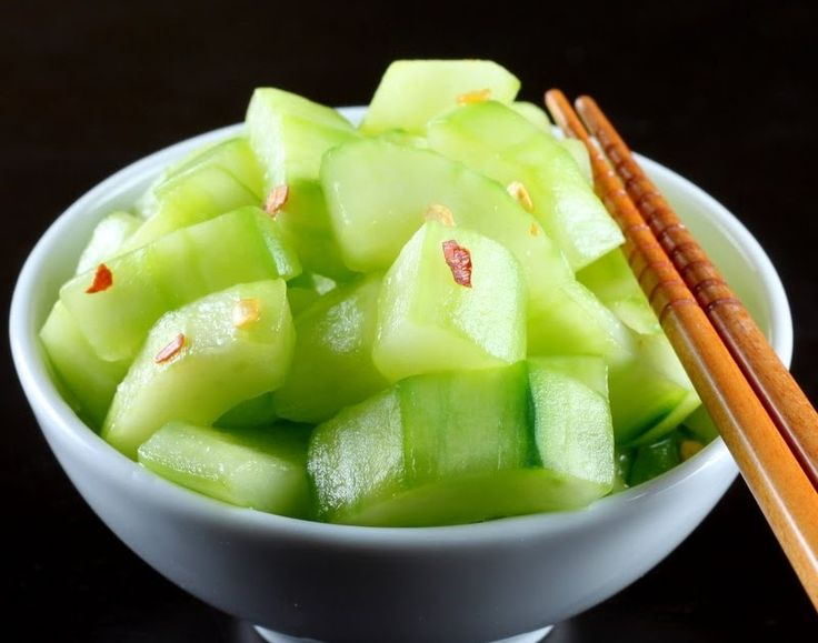 There was this pan-Asian restaurant where I went to college that always served a side of cucumber salad with whatever meal you ordered.  It...