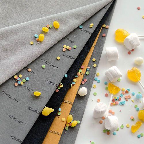 NUOLI Denim look college, Gray | NOSH Fabrics Spring & Summer 2016 Collection - Shop at en.nosh.fi | Kevään 2016 malliston kankaat saatavilla nyt nosh.fi