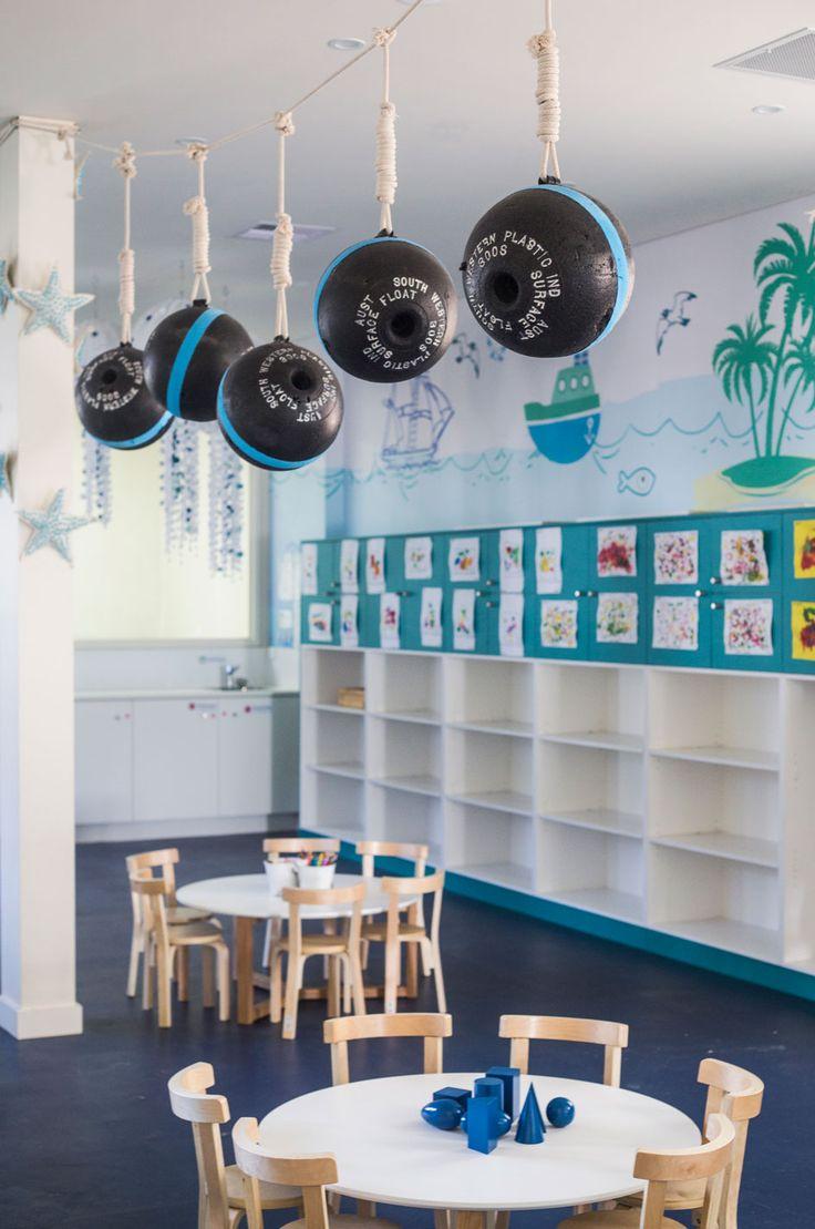 #decorationforchildrensroom #playrooms #underthesea #oceanroom #design #rope #buoys