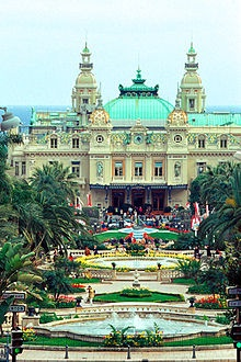 Casino at Monte Carlo, the kids were not allowed to go in so we let them sit in the car. They were happy campers actually since they had no interest in casinos.