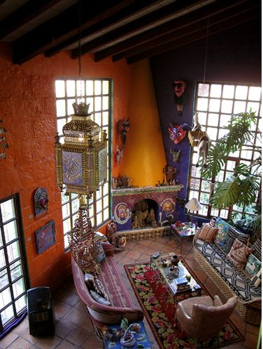 10 best images about mexican living rooms on pinterest for Mexican living room decor