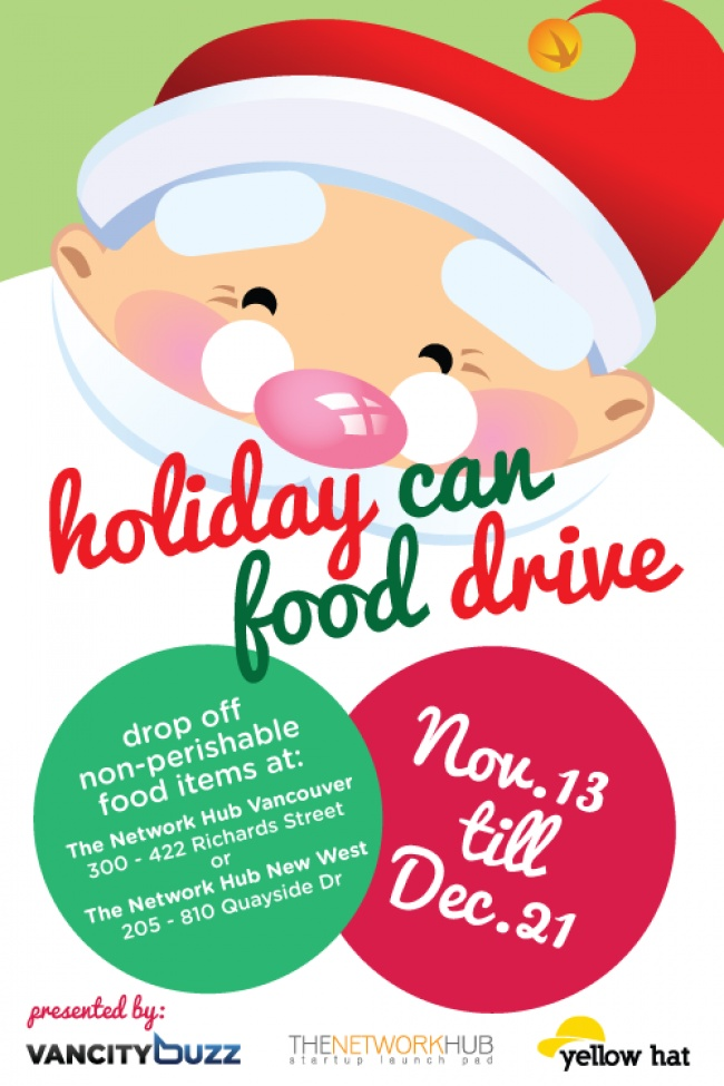 Holiday Can Food Drive. Read more: http://tnwh.ca/TBnAAR
