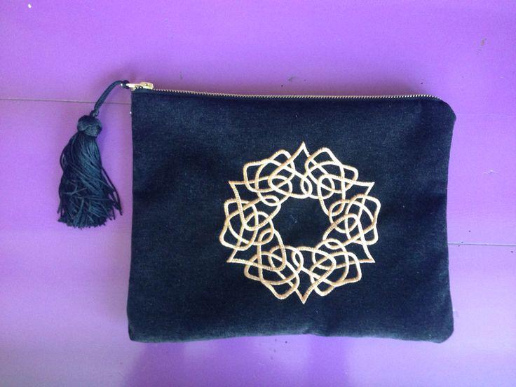 Laser cut , handmade bag