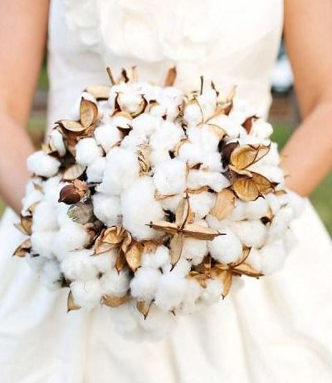 55 Soft And Natural Cotton Wedding Ideas